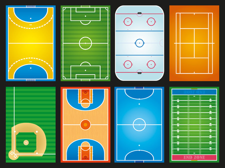 pallamano: campi sportivi