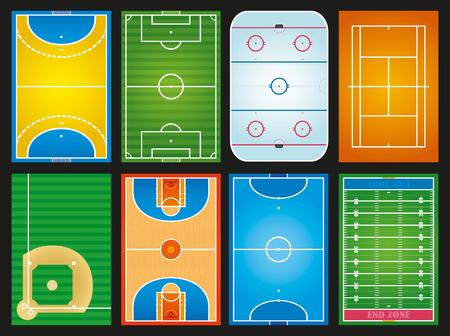 futsal: sport fields