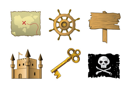rudder: pirate icons