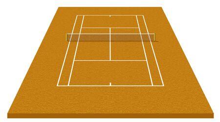 tennis court Stock Photo - 9294403