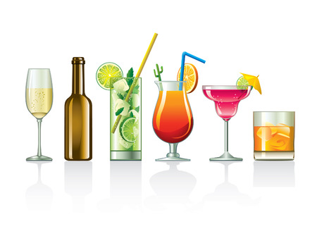 cocktail set Stock Vector - 9142234