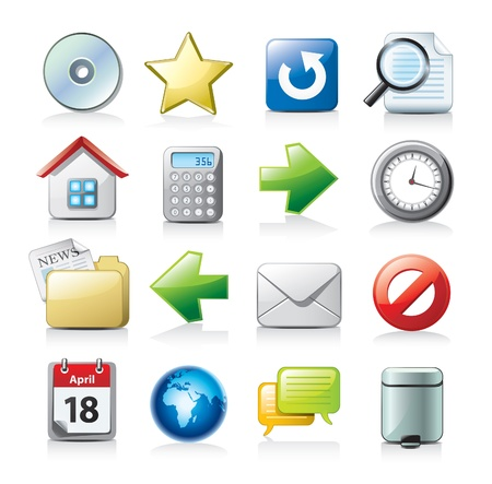 web icons communication: icons