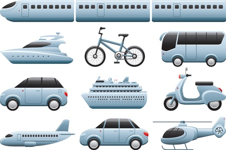 transportiation icons Vector