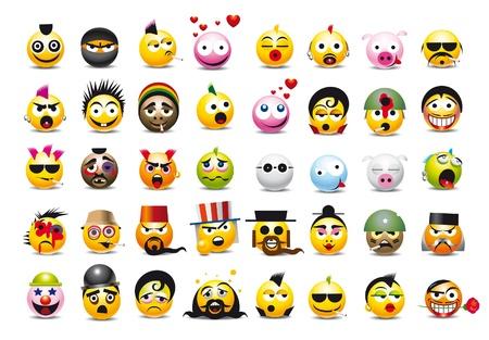 emoticone: set di emoticon