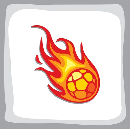 palla di fuoco: hanball fireball