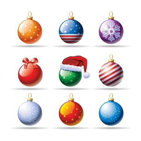 shinning: Christmas balls