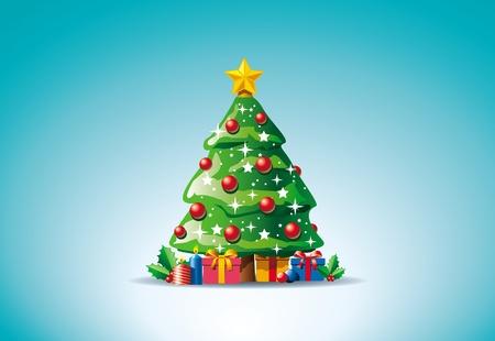 marry christmas: Christmas tree