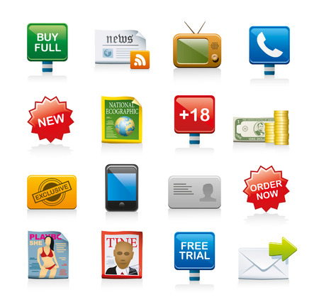 order now: web icons