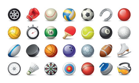 Vector Icons Sport Set Illustration