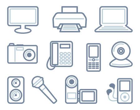 impresora: PC, una foto, vídeo y audio del técnico