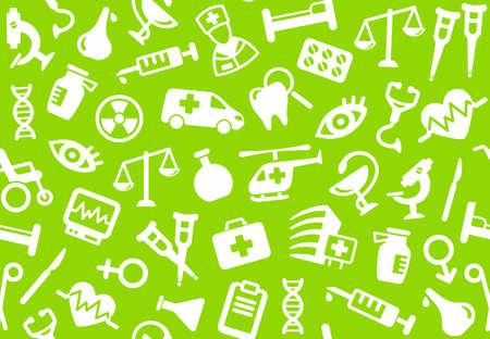 pharma: Pharma and Healthcare background Illustration