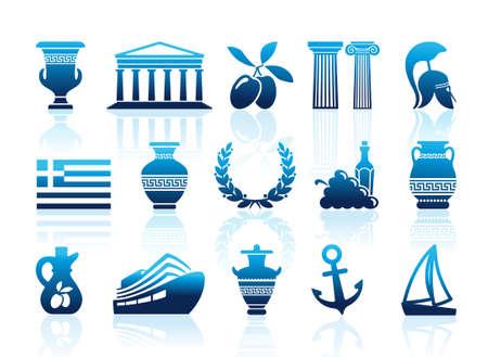 antica grecia: Grecia icone