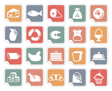 meat icon: Food icons