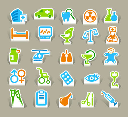 Medical icons Stock Vector - 15067085