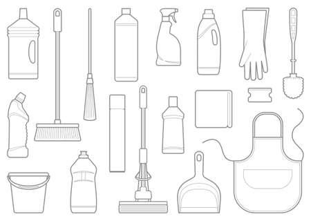 sanificazione: Lineamenti di attrezzature per la pulizia
