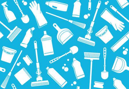 sanificazione: Seamless sfondo di pulizia