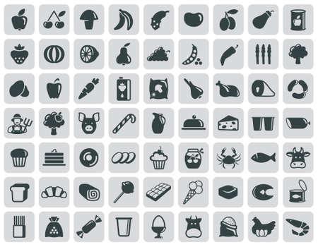 pie de limon: Iconos de alimentos