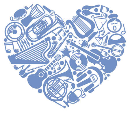 I like music Vector