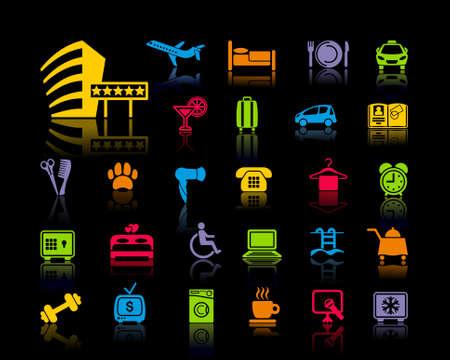 ICONO: Iconos sobre un tema del hotel