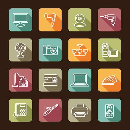 communications equipment: Home appliances Illustration