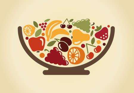 ciotola: Ciotola con frutta