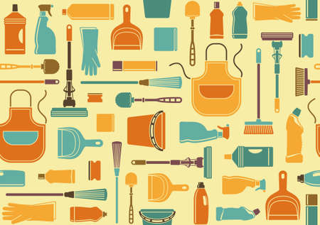 chore: Seamless background of cleaning