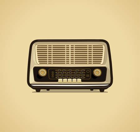 communications equipment: Radio receiver Illustration