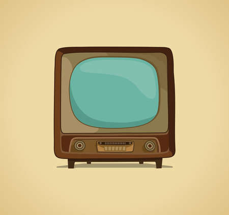 television set: The TV  Illustration