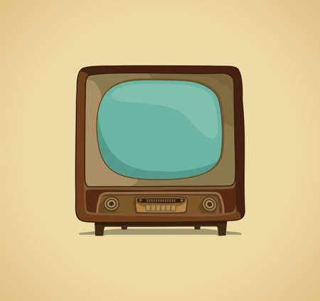 television set: The TV  Illustration
