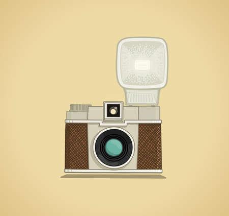 camera flash: Camera Illustration