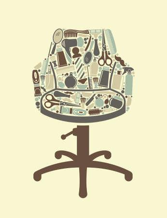 Barbershop symbol Stock Vector - 26620688