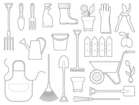 hoe: Garden icons