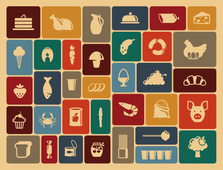 food icon: Food icons