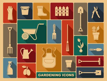 shear: Gardening icons