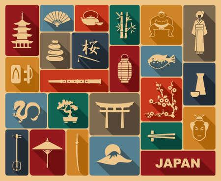 cultura: Japón iconos