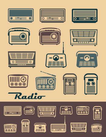 old radio: Radio receivers