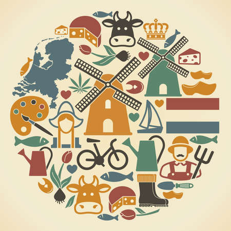 the netherlands: Netherlands symbols