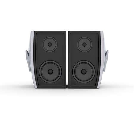 Ear Speker Front 3D Render Stock Photo