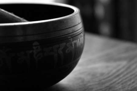 Tibetan Singing Bowl Stock Photo - 11563900