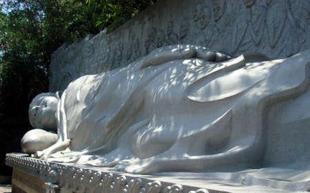 viet nam: Sleeping Buddha Vietnam