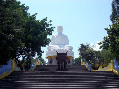 viet nam: Buddha in Temple Vietnam