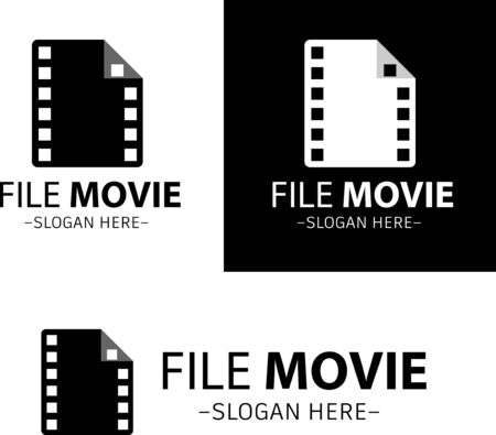 Illustration vector design of film movie 版權商用圖片 - 143038315