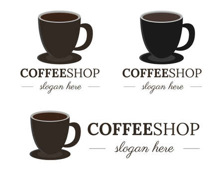 Illustration vector design of coffee  template