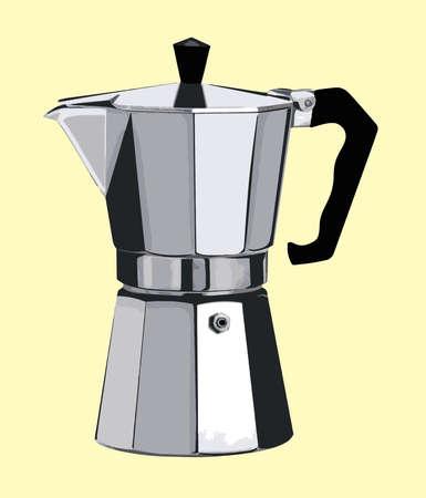 Italian Style Kaffeekanne