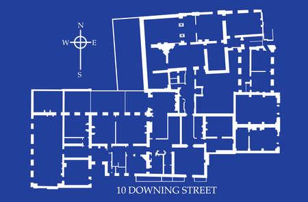 Ten Downing Street, Floor Plan