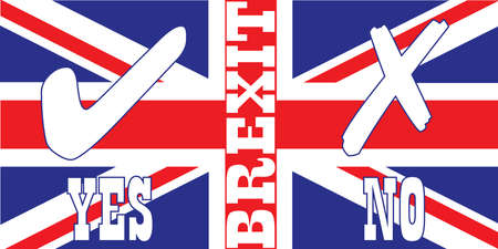 referendum: United kingdom Brexit Referendum Flag