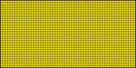 tv panel: YellowOrange LED Board Vector Pattern 2 Illustration