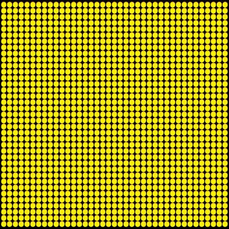 led: YellowOrange LED Panel Vector Pattern