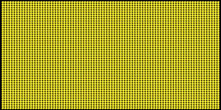 led: YellowOrange LED Board Vector Pattern 3 Illustration