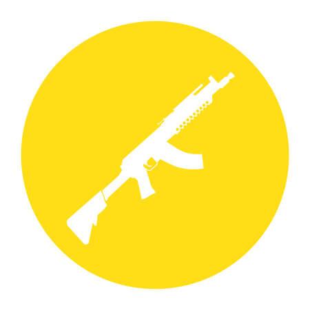 guerilla: Terrorist Icon Small Arms Yellow Icon